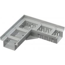 ALCAPLAST Drenážní žlab rohový 100 mm nastavitelný, pozinkovaná ocel ADZ102VR