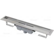 ALCAPLAST Professional podlahový žlab s okrajem pro plný rošt, svislý odtok APZ1006-650
