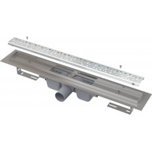 ALCAPLAST Antivandal podlahový žlab 950 mm s roštem, lesk APZ11-950L