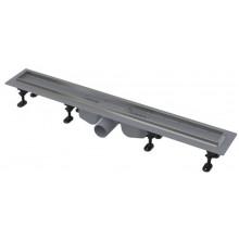 ALCAPLAST APZ22 Optimal podlahový žlab s nerezovým okrajem 850mm APZ22-850