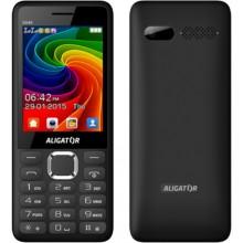 ALIGATOR D940 Dual SIM Mobilní telefon, Black 30015916