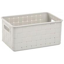 CURVER NUANCE S 6L úložný box 28x18x13cm bílý 17197396