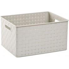 ALLIBERT NUANCE L úložný box 43x33x23cm 30L bílý 17197398