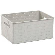 ALLIBERT NUANCE M úložný box 39x28x18cm 18L bílý 17197397