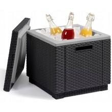 ALLIBERT ICE CUBE chladící box, 42 x 42 x 41 cm, grafit 17194600
