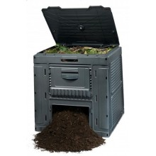 KETER E-Kompostér 470l, s podstavcem, černý 17186362