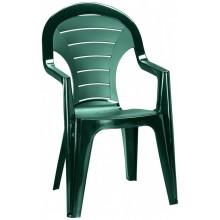 CURVER BONAIRE zahradní židle, 56 x 57 x 92 cm, tmavě zelená 17180277
