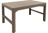 ALLIBERT LYON zahradní stůl 116 x 71 , cappuccino 17202805