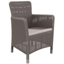 ALLIBERT TRENTON zahradní židle, 63 x 60 x 85cm, cappuccino 17202798