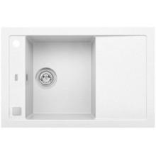ALVEUS FORMIC 30 kuchyňský dřez granitový, 760 x 500 mm, bílá