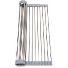 ALVEUS AllRound Rolovací odkapávací mřížka, 450x325 mm, chrom/silikón 1131412