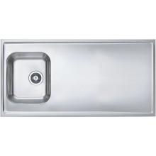 ALVEUS CLASSIC PRO 90 kuchyňský dřez nerez, 1200 x 600 mm, satin 1130473