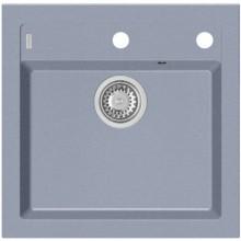 ALVEUS FORMIC 20 kuchyňský dřez granitový, 520 x 510 mm, steel 04 4402004