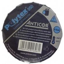 ANTICOR Polytex 550 samovulkanizační silikonová páska šíře 25 mm délka 3000 mm