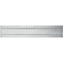 ALCAPLAST Přelivový rošt bez protiskluzu 25mmx195mmx1000mm AP1-195/1000