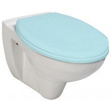 AQUALINE TAURUS 2 WC závěsné, bílá LC1582