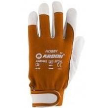 """ARDON rukavice HOBBY 9"""" oranžové A1073"""