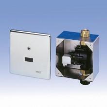 SANELA Splachovač WC SLW 01NK na tlakovou vodu s montážní nerezovou krabicí 04015
