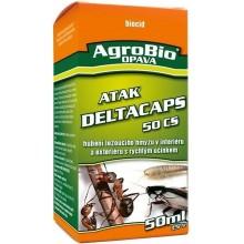 AgroBio ATAK Deltacaps 50 CS hubení lezoucího hmyzu v interiérech, 50 ml 002151