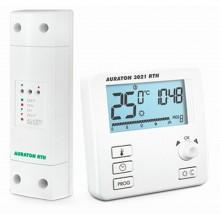 AURATON 3021 RTH Bezdrátový programovatelný termostat s podsvíceným displejem