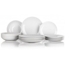 BANQUET Marion Sada talířů bílá, 18ks 60310701