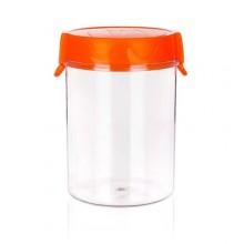 BANQUET dóza plastová 1,2 l oranžová 557817