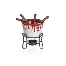 BANQUET 6dílný fondue set na čokoládu Choco Dark 17AA1201-A