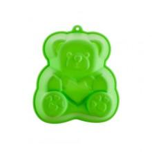 BANQUET Silikonová forma medvídek 14,2x12,3x3,5 cm CULINARIA green 3122050G