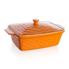 BANQUET Zapékací forma obdélníková s víkem 33x21cm Culinaria Orange 60ZF10