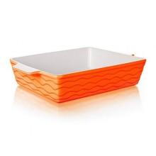 BANQUET Zapékací forma obdélníková 33x21cm Culinaria Orange 60ZF18