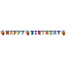 PROCOS Girlanda Happy Birthday Balloons 449724