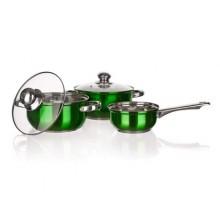 BANQUET 5ds nerez nádobí Maestro Green 48HF09GC05