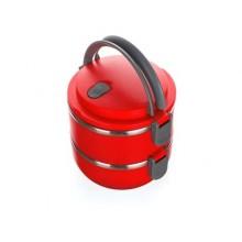 BANQUET Jídlonosič plastový CULINARIA Red 1,4l, 2 díly 48220020