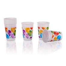 PROCOS Nápojový pohár 200 ml, 8KS Balloons 4480656