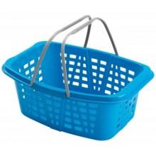 HEIDRUN koš na prádlo s rukojeti, 26l, modrý 348