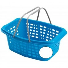 HEIDRUN koš na prádlo s rukojeti, 26l, bílá 348