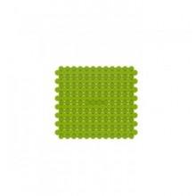KELA Podložka do dřezu 25 x 28 cm, zelená KL-12240