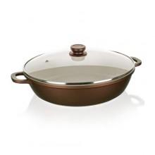 BANQUET TITUS Pánev Paella s nepřilnavým povrchem 28 cm, s poklicí 40020628