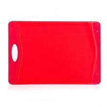 Prkénko krájecí plastové DUO Red 37 x 25,5 cm
