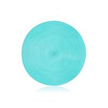 BANQUET PP prostírání kruhové 38 cm, tyrkys 12PP38RLIMPET
