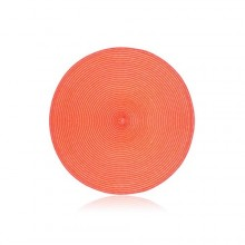 BANQUET PP prostírání kruhové 38 cm, peach 12PP38RPEACH