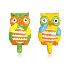 BANQUET OWL Sada keramických háčků 10,5 x 6,6 x 2,7 cm, 2 ks 60339482