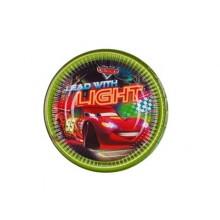PROCOS Talíř papírový dia 19,5 cm, 8KS Cars Neon 4482627