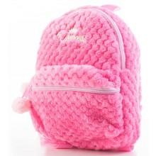 Batoh G21 dětský plyšový, růžový 60026152