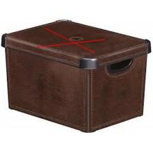 VÝPRODEJ CURVER INFINITY úložný box 45 L 56 x 27 x 39 cm šedý 01721-099 BEZ VÍKA!!!!