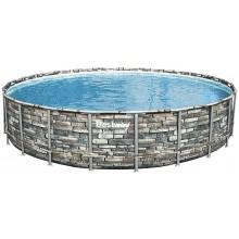 VÝPRODEJ BESTWAY Bazénový set Power Steel 671 × 132cm 56889 POŠKOZENÝ OBAL!!