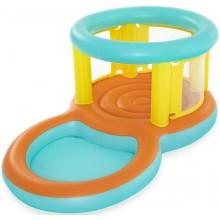 BESTWAY Nafukovací trampolína s bazénem 239x142x102cm 52385