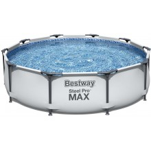 BESTWAY Bazén Steel Pro Max, kartušová filtrace 305x76 cm 56408