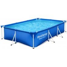BESTWAY Bazén Steel Pro, kartušová filtrace 300x201x66cm 56411