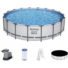 BESTWAY Bazén Steel Pro Max, kartušová filtrace 549x122 cm 56462